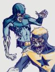 Booster and Beetle Zombies by mothbot