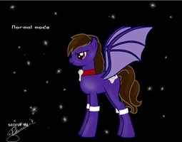 My OC Pony_Normal mode by Sedna93