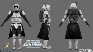 Imperial Scout Arc Trooper by JakeGreen163