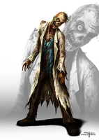 Zombie Scientist by Serathus