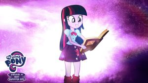 Twilight Sparkle is Best Equestria Girl HD Wallpap by Jackardy