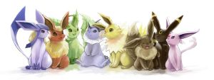 Which Eevee Evolution Are You? by nejimakick