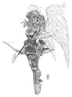 Seraph Angel by Everwho