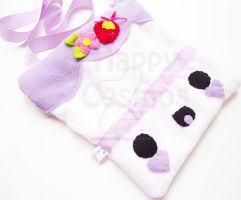 Purple Cake Bag by CosmiCosmos
