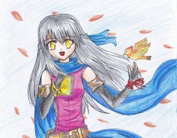 FE - Micaiah and Yune by levenark