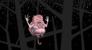 Oldwise Monkey in the Stars by PaxsonArt