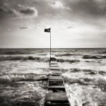 The flag on Marmara by etchepare
