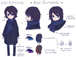 |OC| Valentine Ref Sheet by NaoScribbles