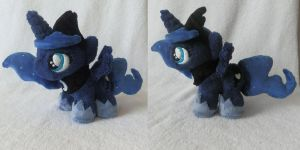 Princess Luna Filly Plush by StarMassacre