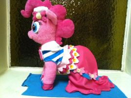 Galloping Gala Pinkie Pie Plush by HereticalSun