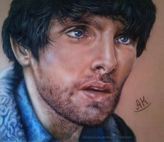 Colin Morgan as Leo in Humans AMC by AnastasiyaKosenko