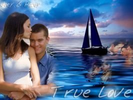Pacey and Joey Wallpaper by TheSearchingEyes