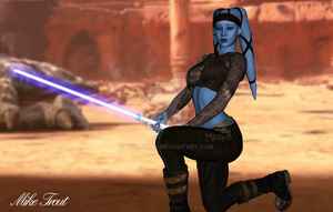 Aayla Secura by mtrout65