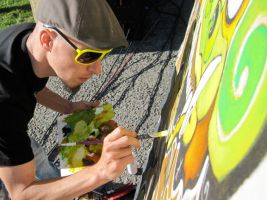 Live-art-in-OAkland by draweverywhere