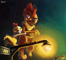 Daily 11 - Scraggy and Scrafty