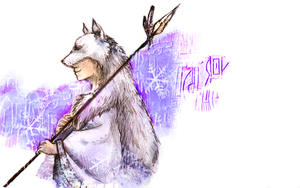 APH - White Wolf by Kikki-and-Friends
