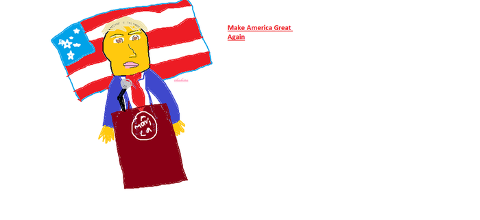 Donald Trump Fanart by real69wildehopps420