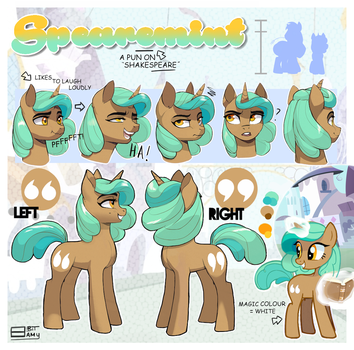 MLP Ponysona OC Ref Sheet [Updated] by 8BitAmy