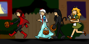 A RWBY Halloween by geek96boolean10