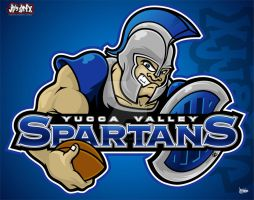 Yucca Valley Spartans by jpnunezdesigns
