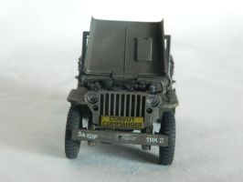Jeep 'Willies' Front View by Kingtiger2101