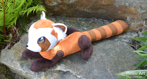 Lifesize Pabu plush - Legend of Korra by PinkuArt