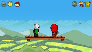 SHADE what are you doing in scribblenauts by Pickleplayer