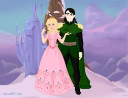 My top 5 OC couples: 3. Loki and Heather by Colleen15