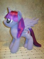 Princess Twilight Sparkle plushie (updated) by Zooher-Punkcloud