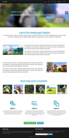 Free Landing Page Template by xara24