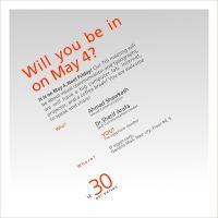 Will You be in, on May 4? by egyptians