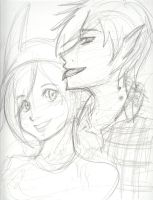 Fiona and Marshall Lee by Catgirlemi7