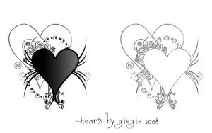 Hearts by GieGie