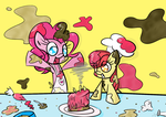 Applebloom and Pinkie Pie's Kitchen Time! by Lemon-Heartss