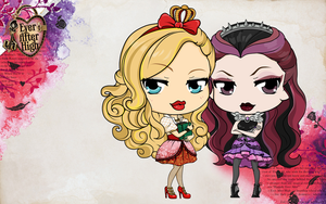 Ever After High - Royal or Rebel? by Mibu-no-ookami