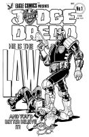 Judge Dredd by angryrooster