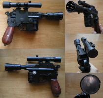 Blaster Dl-44 - Greedo Killer by Jok18
