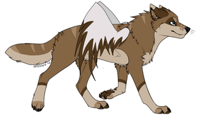 Winged wolf adopt closed by axelsadoptables