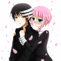 .:Kid x Crona:. by melloskitten