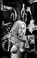 Judge Anderson VS The Dark Judges (For Sale) by dimitriskoskinas