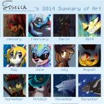 2014 Summary Of Art Template by fistich