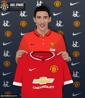 Angel di Maria Vector | BT Graphic by beursarta