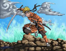 Samurai Naruto almost finished by Crucifer01