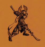 Warrior from the Warring State by Nobunaga1981