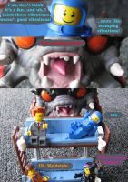 Evolve Lego Comic Page 13 by SledgePainter