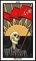 Tarot Card - Death by ligoscheffer
