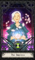 Ben 10 Tarot- 3. The Empress by CheshireP