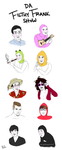 Da Filthy Frank Show Character Doodles by LLavvliet