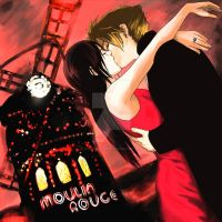 Moulin Rouge: Tifa and Cloud by SundogReverse