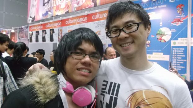 Comic Fiesta '13 Day 1: Orihara Izaya x Danny Choo by FAT8893